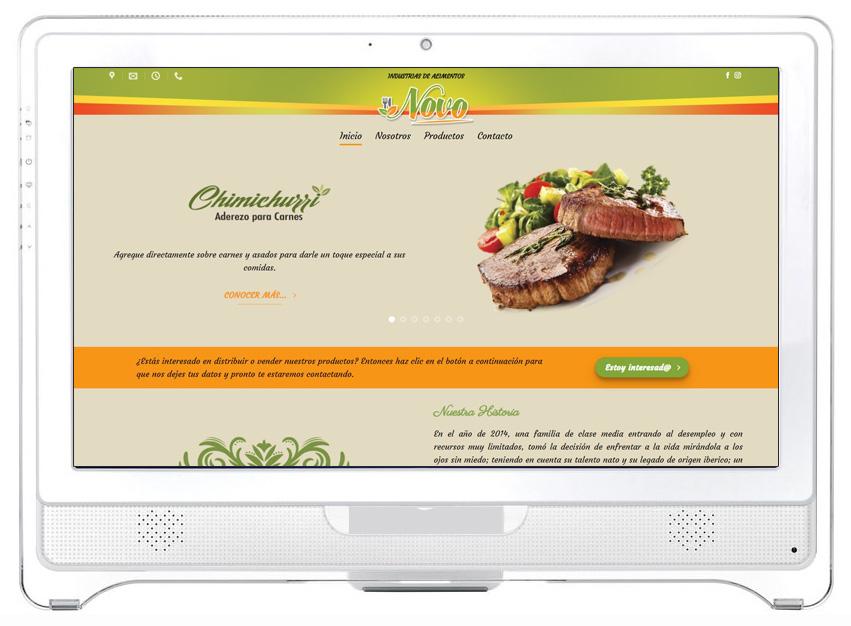 Industrias de Alimentos Novo
